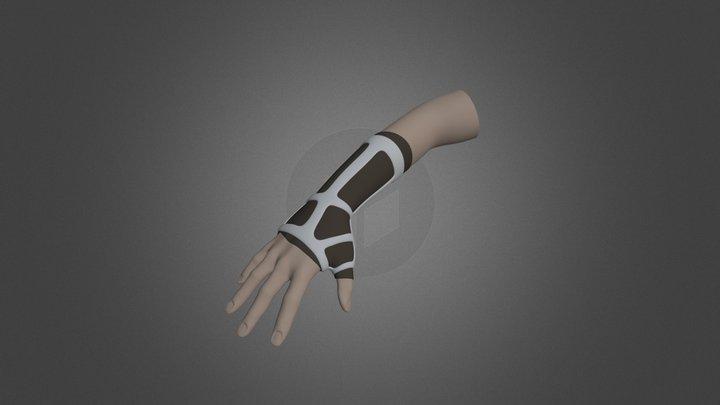 Printed Cast 3D Model
