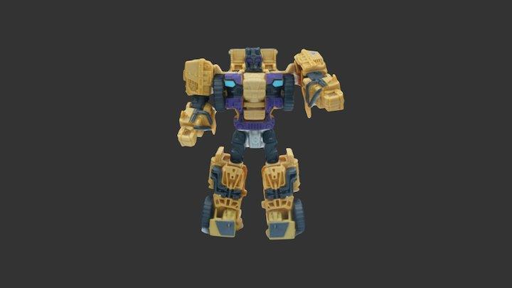 变形金刚 3D Model