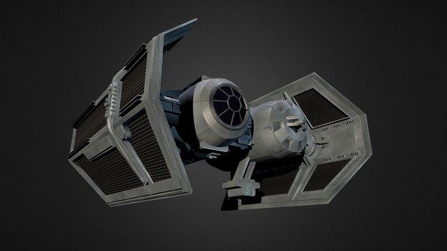 Tie-Bomber - By Antonio Schiavelli 3D Model