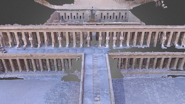 Temple of Hatshepsut, Upper Floor 3D Model