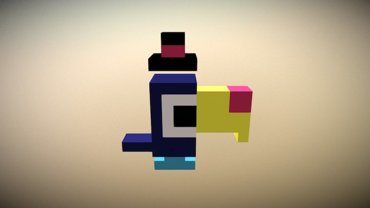 Timmy 2 Cans 3D Model