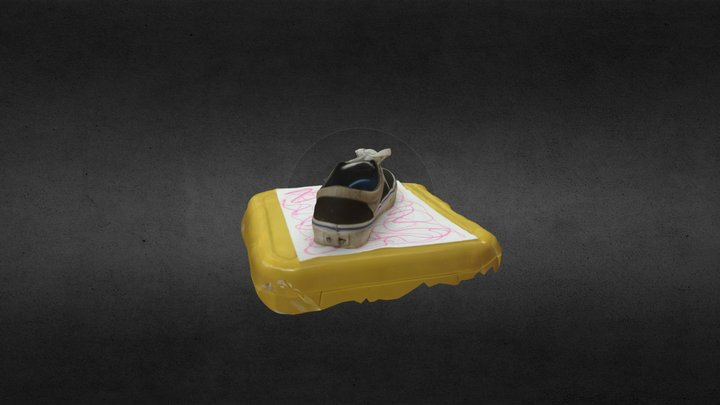 Dirty Vans Sneaker 3D Model