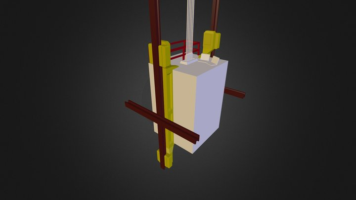 Lift/Elevator 3D Model