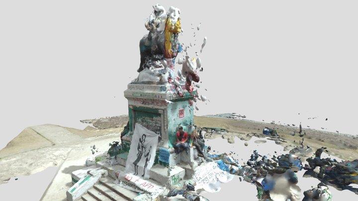 Plaza Dignidad Nov25 3D Model