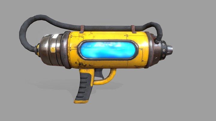 Just... GUN 3D Model