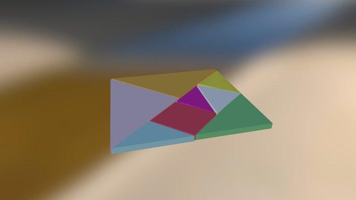 Tangram2 3D Model