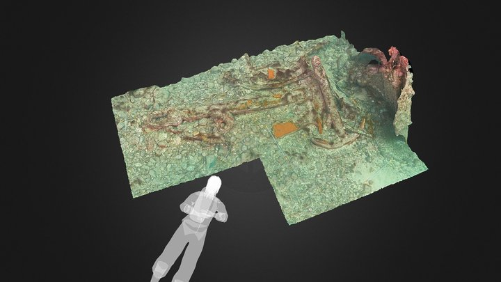 SS Panama, Anchor-02: Expedition Isla Margarita 3D Model
