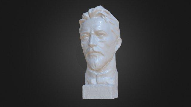 Anton Pavlovich Chekhov 3D Model