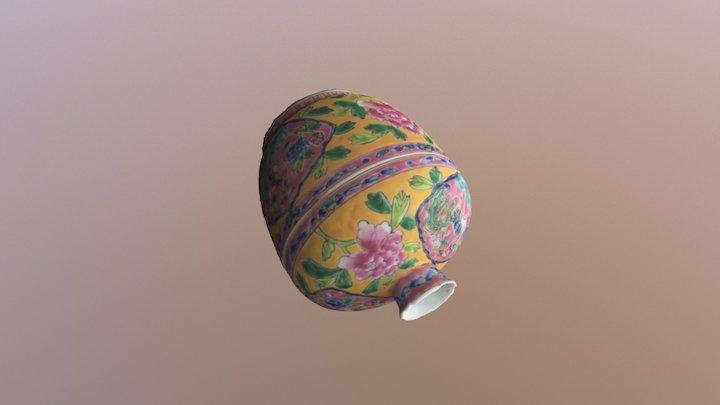 Peranakan Porcelain (HD) 3D Model