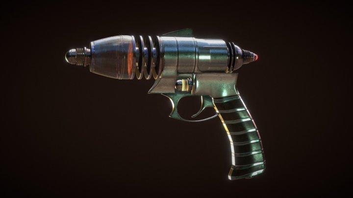Pulp Ray Gun 3D Model