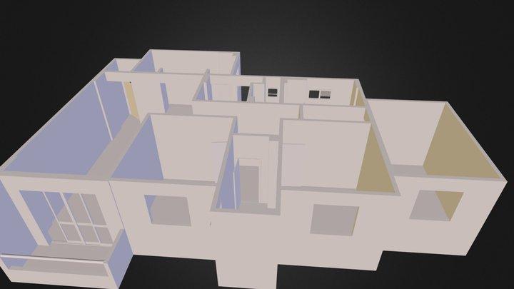 Montagem Tabatingaobj 3D Model