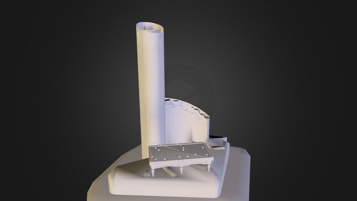SkyTower 3D Model