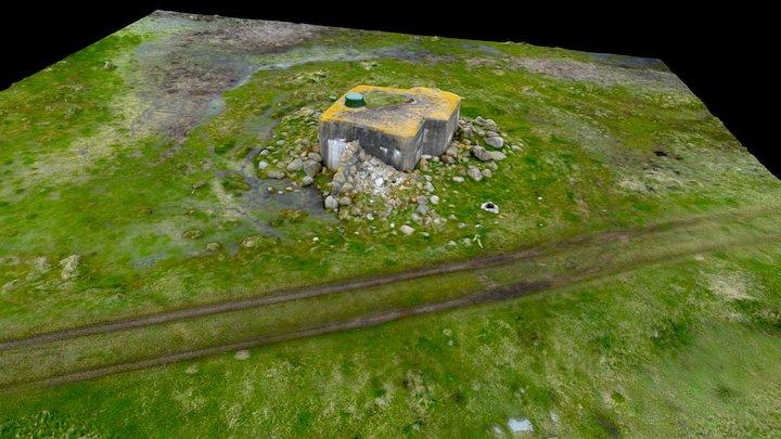 Bunker 555 3D Model