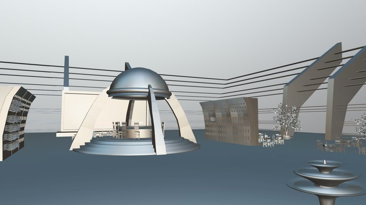 Parque Central 3D Model