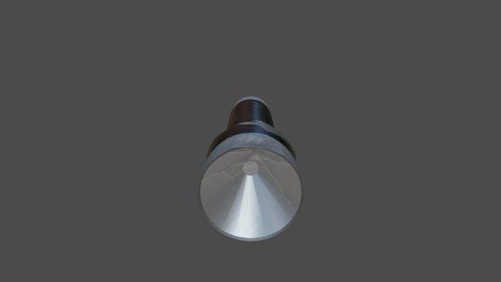 Flashlight - Textured 3D Model