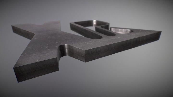 XPR300 - Échantillon de coupe sur acier inoxydable (Fr)