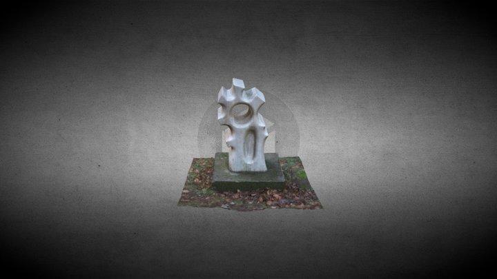 Escultura de piedra 3D Model