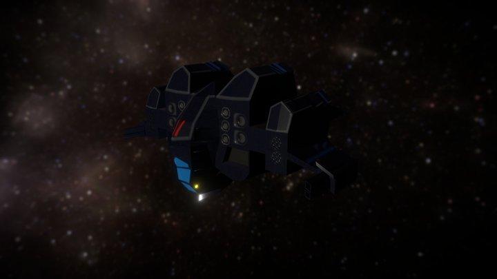 GTF Myrmidon from Freespace2 3D Model