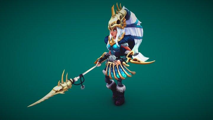 Viking Pirate Sister - 维京海盗妹子-芙琳 3D Model