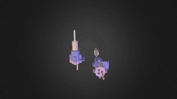 Separing pipes 3D Model