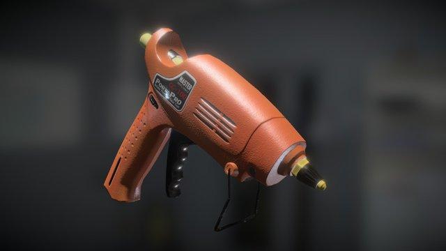 Glue Gun 3D Model