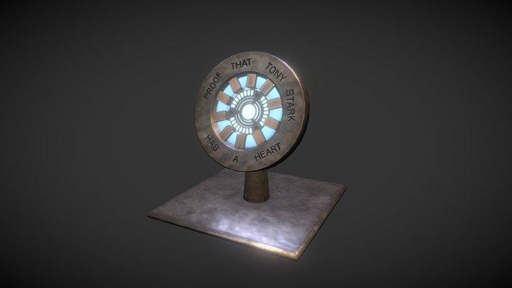 Iron Man first Arc Reactor 3D Model
