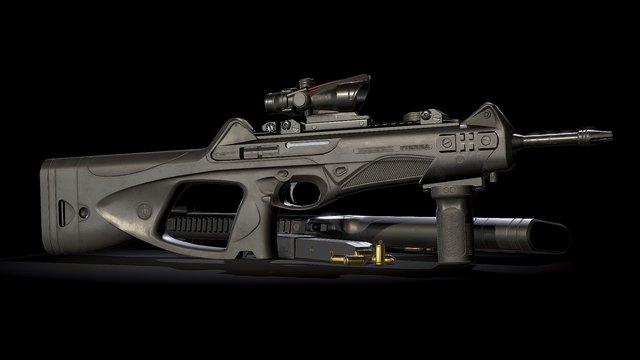 CX4 Storm 3D Model