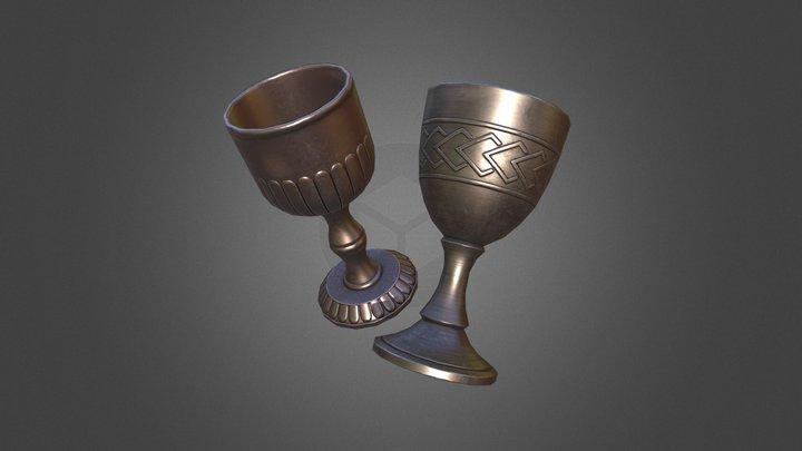 Goblets 3D Model