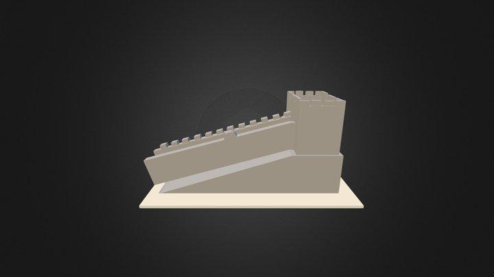 Muraille De Chine Google Sketchup 3D Model