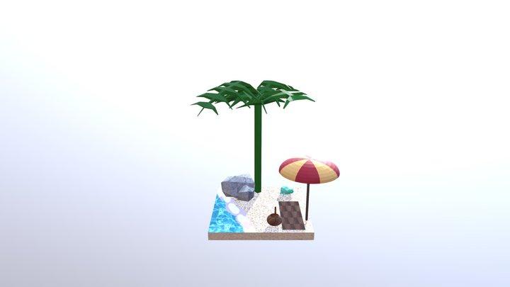 Beach wip4 3D Model