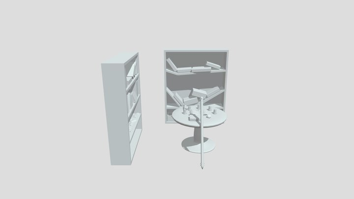 Wizard Room 3D Model