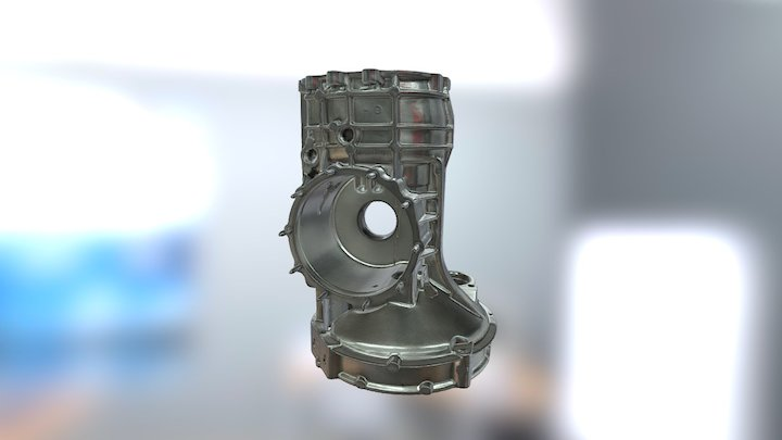 3D scan of Gearbox for Reverse Engineering 3D Model