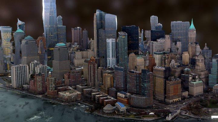 Manhattan 3D Model