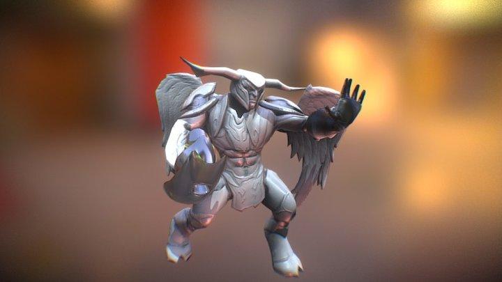 Demon Channeler 3D Model