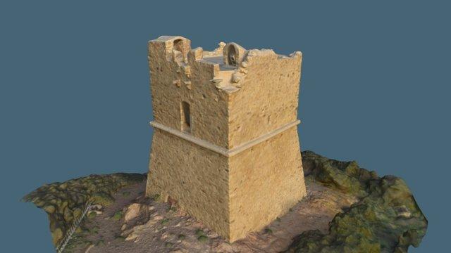 Tour génoise, Pinarellu, 20124 Zonza 3D Model