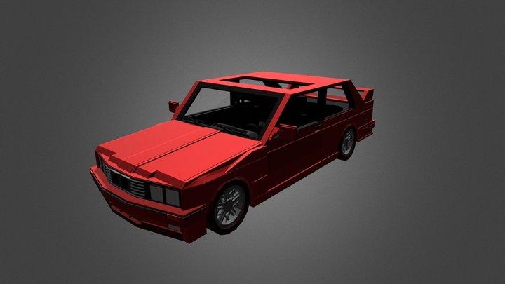 1996 BMW M3 3D Model