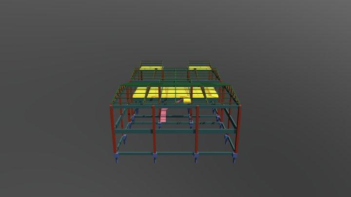 PROJETO ACADEMIA 3D Model