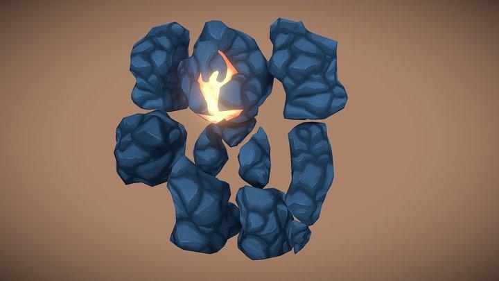 Drugdör The Golem 3D Model