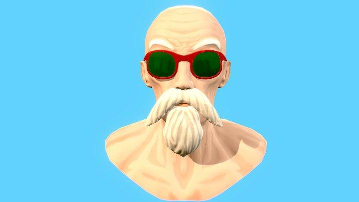 Master Roshi 3D Model