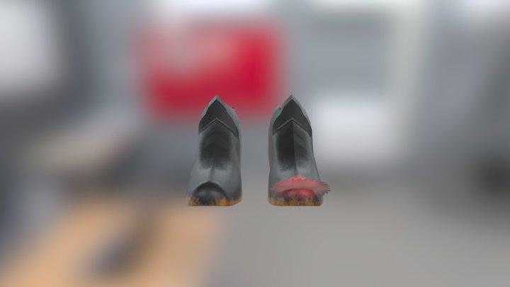 Boots (Hard Prop Model) 3D Model