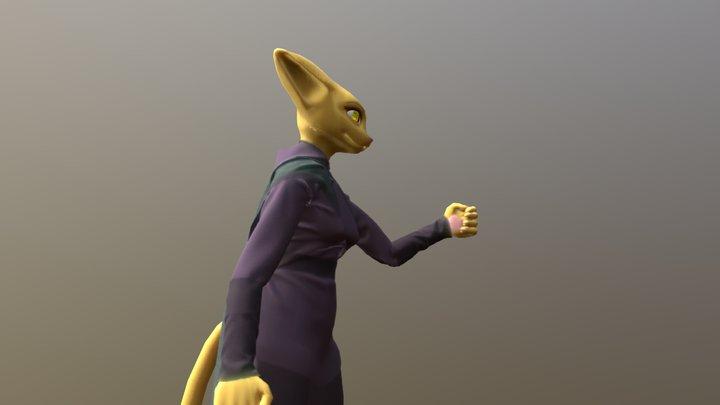 Katia Managan 3D Model