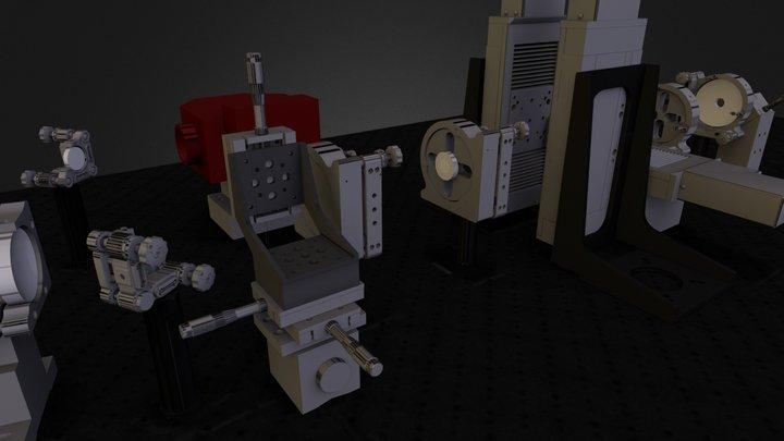 2Q-2D Experiment 3D Model