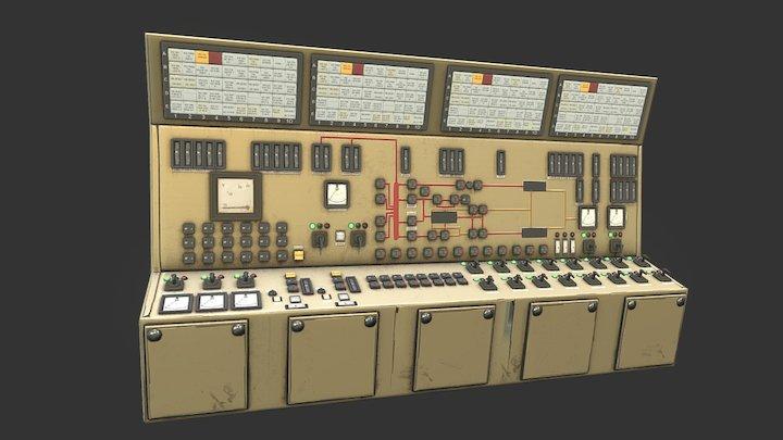 Control Panels 01 3D Model