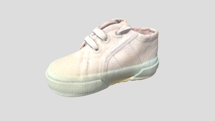 Baby shoe 2 3D Model