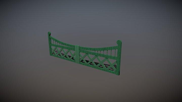Victorian Gate 3D Model