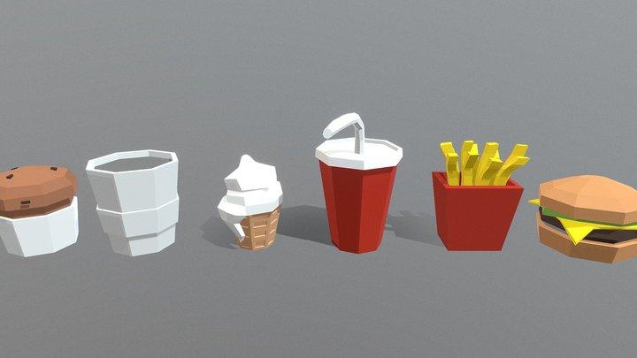 Episode 64 - Fast Food 3D Model