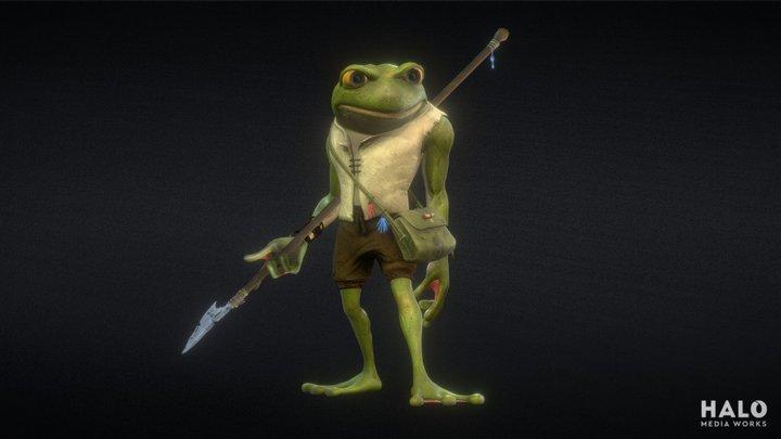 Dimitri the Fisherfrog 3D Model