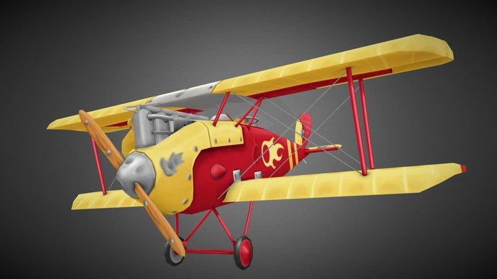 Halberstadt Flying Circus 3D Model