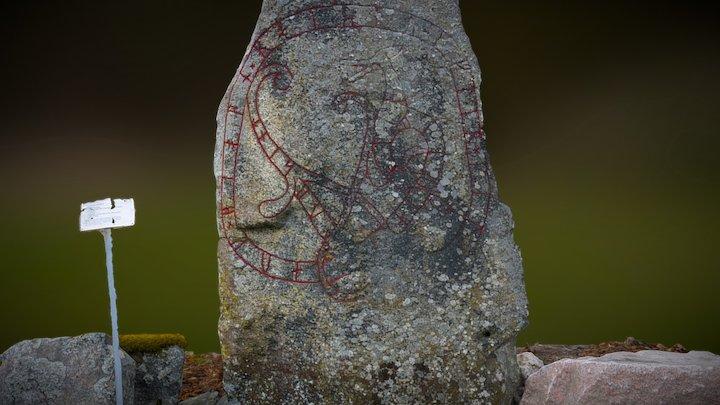 Runestone in Sweden 3D Model