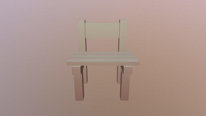 21301椅子 3D Model